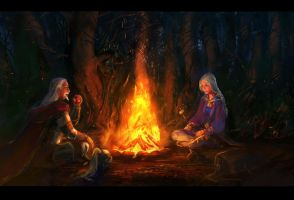campfire by anndr