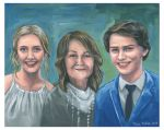 Another family portrait in oil. by TracieMacVean