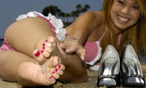 Asian Soles 4 by cum-on-her-feet