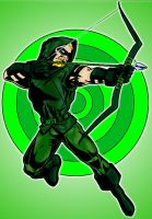Green Arrow by pascal-verhoef