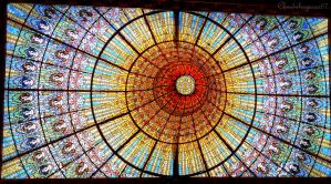 Under the Magnificent Skylight (Barcelona) by Cloudwhisperer67