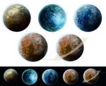 Planets pack by IgnisFatuusII