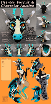 DEEREON FURSUIT AUCTION! by LiLaiRa