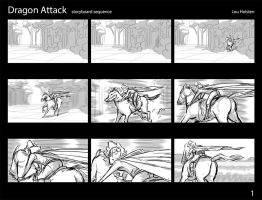 Dragon Attack part 1 by LouHolsten