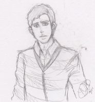 Neville Longbottom SKETCH by MikachuAttack