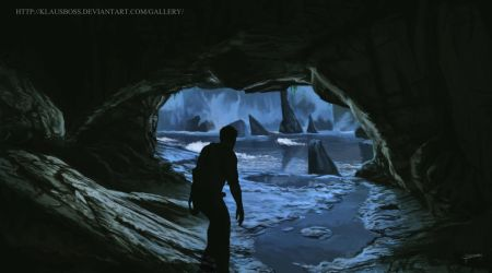 In the caves by KlausBoss