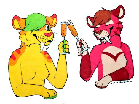 Mimosas! by CursedFire
