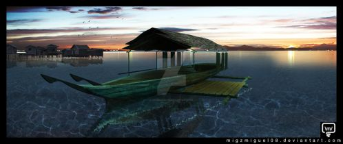 Badjao Houseboats by migzmiguel08