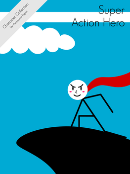 Character Collection #45 - Super Action Hero by AwesomePaper
