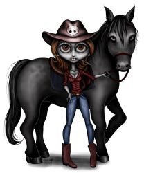 Cowgirl by abou3