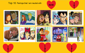My Top 10 Neutral Pairings by ALVINORSUPPORTERFnF1