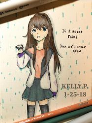 If it never rains, well never grow by khp0245