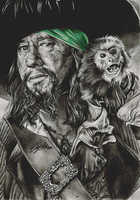 Hector Barbossa by FreedomforGoku