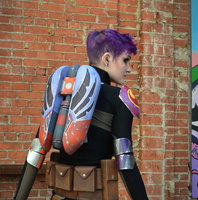 Epilogue Sabine Wren Cosplay Jetpack by mblackburn