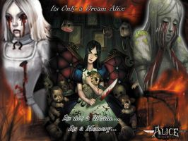 Alice: Madness Returns Wallp by LordDarknessZero