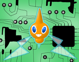 Rotom, Master of Electronics by Rotommowtom