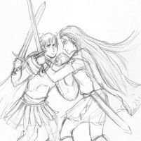Rome and Germania go at it by sammich