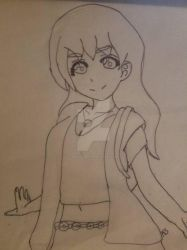 Rough Draft of Brianna Malveaux by KiwiSylveon