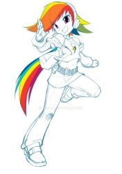Rainbow Dash by jorama
