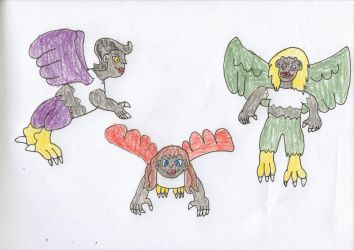 Harpies by trexking45