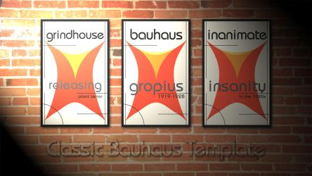 Classic Bauhaus Template by CubenRocks