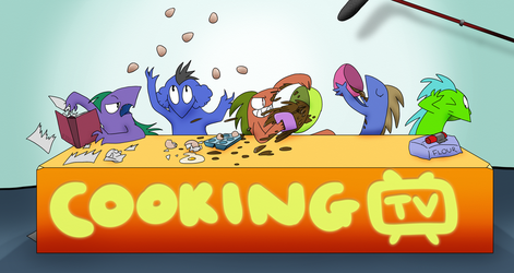 Cooking by the Book by Maki-Tak