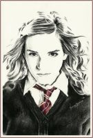 Hermione Granger by thewholehorizon