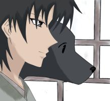 Shigure - Fruits Basket: Color by ZunnybLoLa