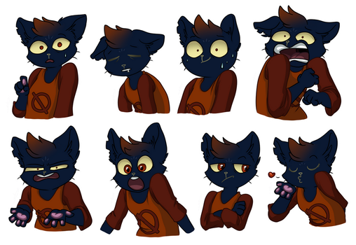 Mae Stickers by S1Dni