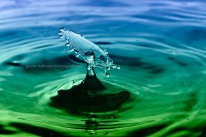 Water Drop by Pavel-Matveev