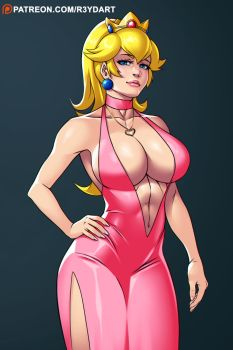 Super Sexy Princess Peach by Yoshi9288