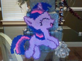 Large Perler Bead Art: Full Body Twilight Sparkle by Perler-Pony