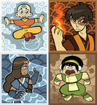 THE FOUR ELEMENTS by BillSpooks
