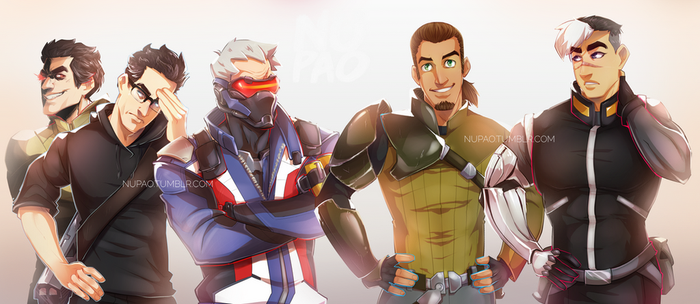 Just a bunch of dads by nupao