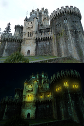 Castle retouch by SatelliteAlice