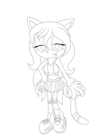 LineArt Comm 2 V2 by TheSparklyMisfit