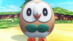 Rowlet (Pokemon Sun and Moon) by GuilTronPrime