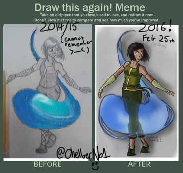 Korra IMPROVEMENT by ChelberNo1