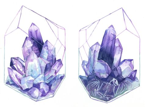 Crystal Terrarium by bluealaris