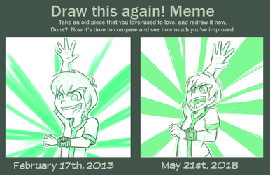 It's Hero Time! [Draw This Again] by Gell-pen