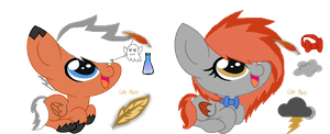 Brew-A-Pony: Ponies 2 and 3 by MadWhovianWithABox