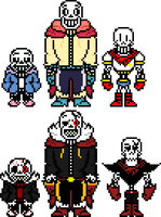Comic Papyrus's by flambeworm370