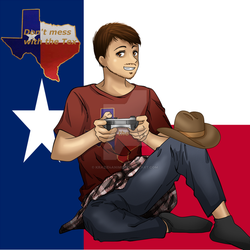 Just texas things by krazie4anime