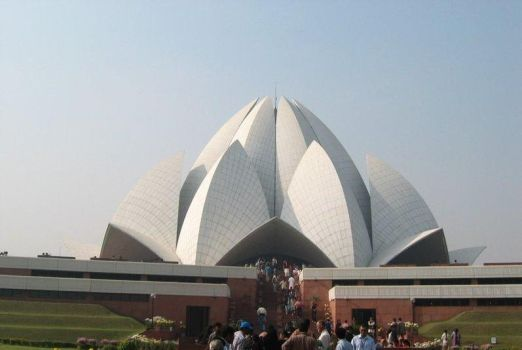 Lotus temple by dnbarman