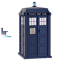 Tardis by InvisibleJune