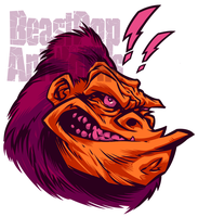 BeastPop Gorilla Mascot 2 by pop-monkey