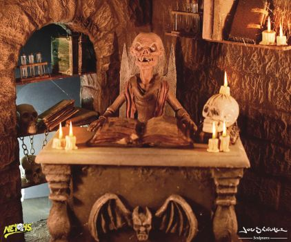 Tales from the crypt Diorama pic 2 by joeytheberzerker