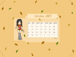 Calendrier Octobre by Sinceritta