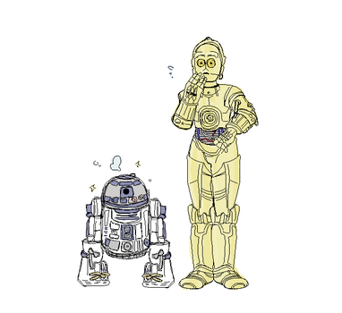 droids ! by Sophy-Chan77