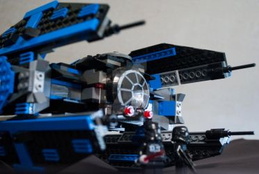 Lego Balrog TIE Fighter by JoshJenkins6